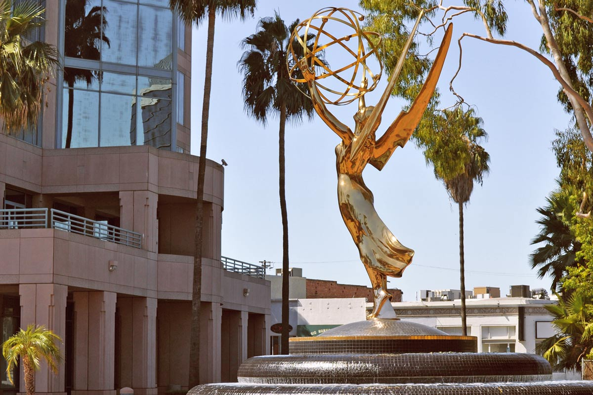The North Hollywood location of the Academy Television Arts & Sciences is the home of the Emmy Awards.
