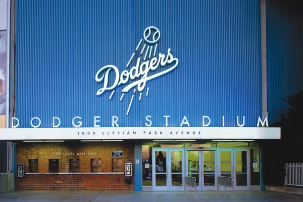 Dodger Stadium Entrance