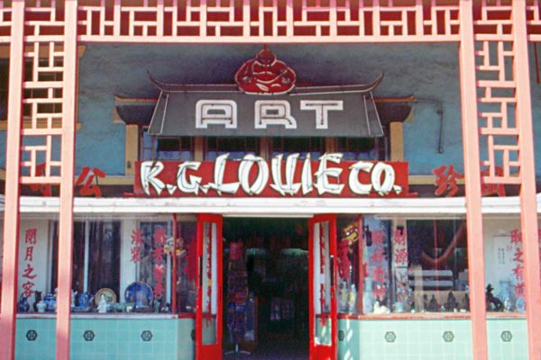K. G. Louie Co. in Los Angeles' Chinatown