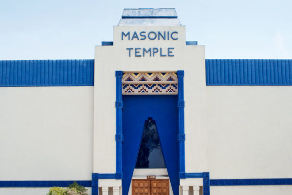 Masonic Temple in North Hollywood