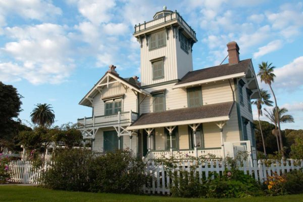 Point Fermin Park Lighthouse in San Pedro, California